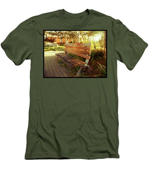 Men's T-Shirt (Athletic Fit) featuring the photograph A Restful Respite by Shawn Dall