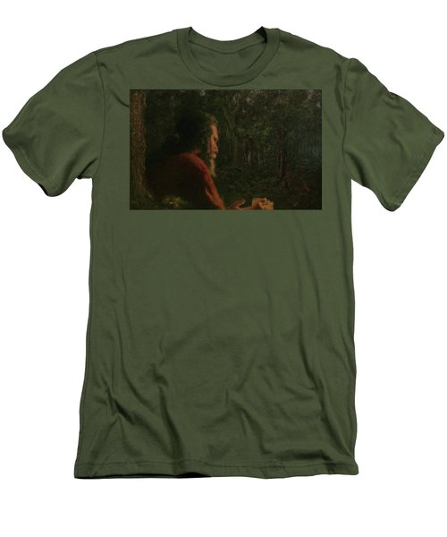 A Soothing Peace Men's T-Shirt (Athletic Fit)