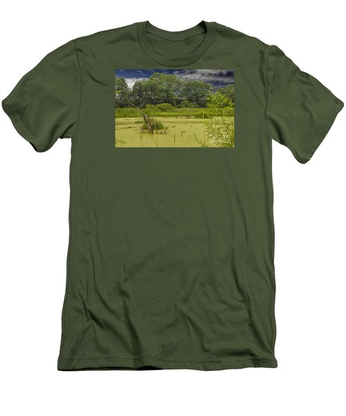 A Swamp Thing Men's T-Shirt (Slim Fit) by JRP Photography