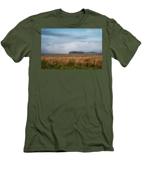 Men's T-Shirt (Athletic Fit) featuring the photograph A Touch Of Snow by Jeremy Lavender Photography