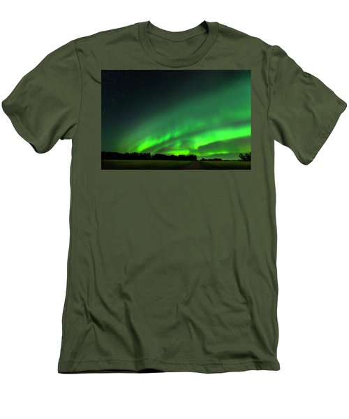A Tsunami Of Green Men's T-Shirt (Athletic Fit)