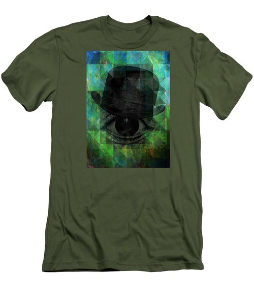 A Very Private Eye Men's T-Shirt (Slim Fit) by Mimulux patricia no No