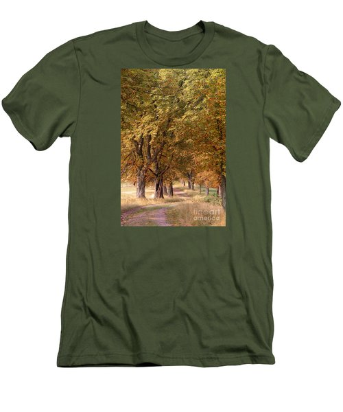 A Walk In The Countryside Men's T-Shirt (Athletic Fit)