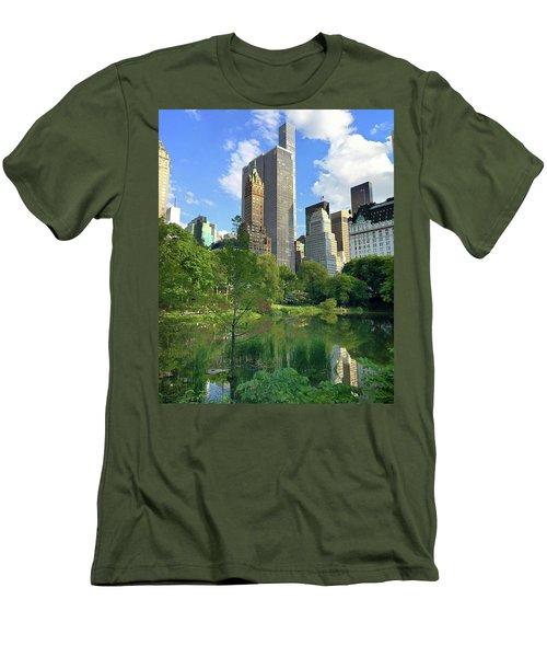 A Walk Thru Central Park Men's T-Shirt (Athletic Fit)