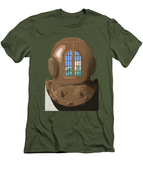 A Wave Inside The Helmet Men's T-Shirt (Athletic Fit)