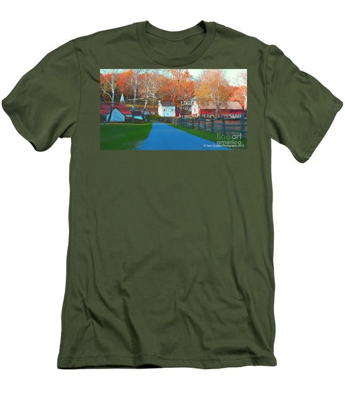 A World With Octobers Men's T-Shirt (Athletic Fit)