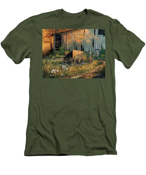 Abandoned Beauty Men's T-Shirt (Athletic Fit)