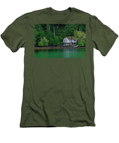 Abandoned Dreams Men's T-Shirt (Slim Fit) by Inge Riis McDonald