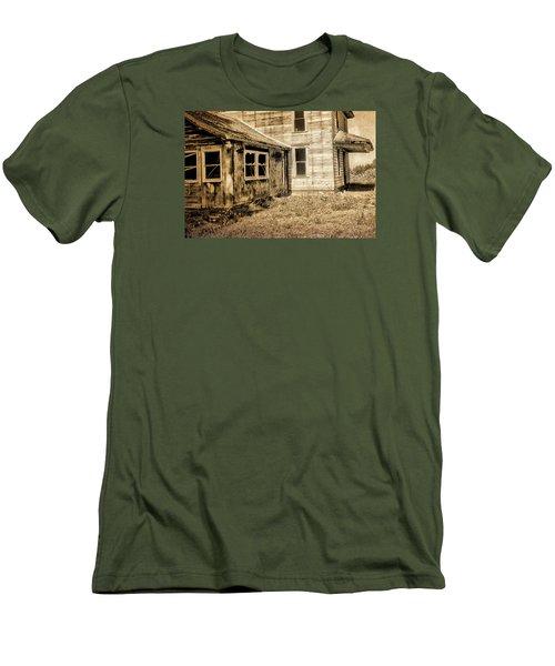 Abandoned House 2 Men's T-Shirt (Slim Fit) by Bonnie Bruno