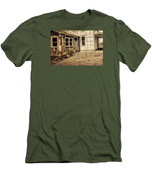 Abandoned House 3 Men's T-Shirt (Slim Fit) by Bonnie Bruno