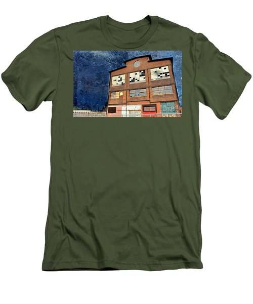 Abandoned Industrial Men's T-Shirt (Athletic Fit)
