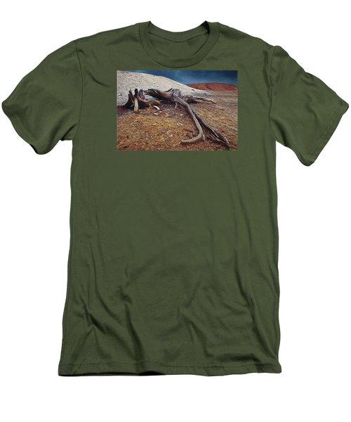 Abandoned Quarry Men's T-Shirt (Slim Fit) by Vladimir Kholostykh