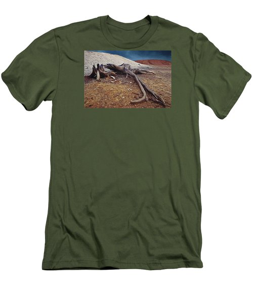 Abandoned Quarry Men's T-Shirt (Athletic Fit)
