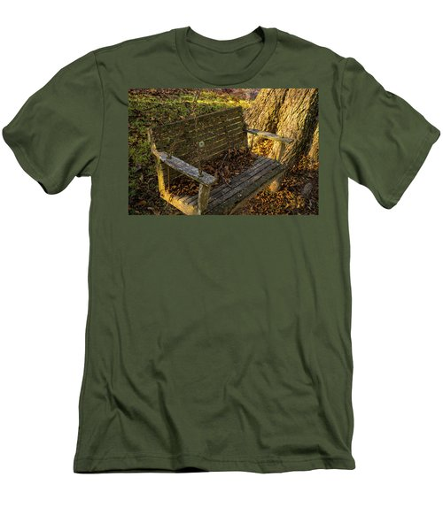 Abandoned Swing 2 Men's T-Shirt (Athletic Fit)