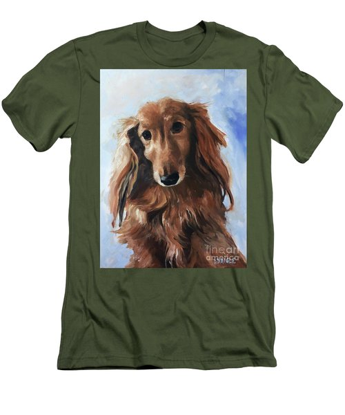 Abby Men's T-Shirt (Slim Fit) by Diane Daigle