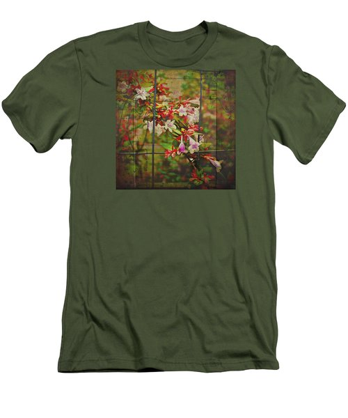 Abelia Coming Through Men's T-Shirt (Slim Fit) by Bellesouth Studio