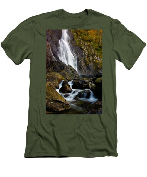 Aber Falls 2 Men's T-Shirt (Athletic Fit)