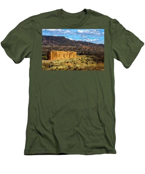 Abiquiu Church Men's T-Shirt (Slim Fit) by Robert FERD Frank