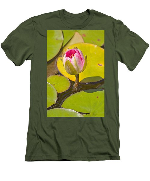 About To Bloom Men's T-Shirt (Slim Fit) by Peter J Sucy