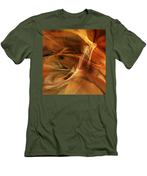 Abstract 060812a Men's T-Shirt (Slim Fit)