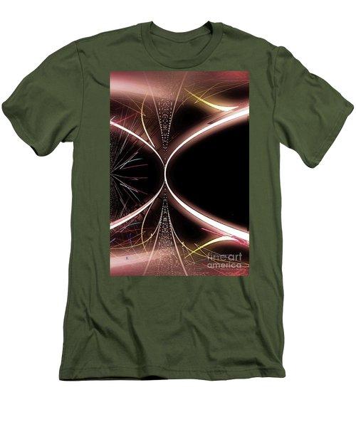 Abstract 302-2015 Men's T-Shirt (Slim Fit) by John Krakora
