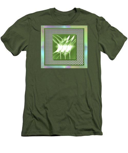 Abstract 54 Men's T-Shirt (Slim Fit) by Iris Gelbart