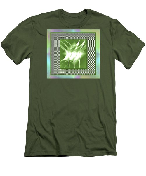 Abstract 54 Men's T-Shirt (Athletic Fit)