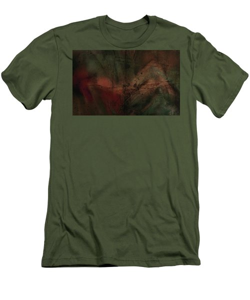 Abstract Nude 4 Men's T-Shirt (Slim Fit) by Jim Vance