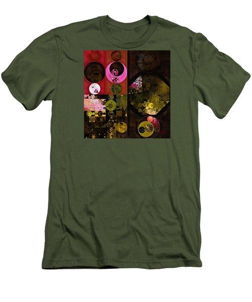 Abstract Painting - Tonys Pink Men's T-Shirt (Slim Fit) by Vitaliy Gladkiy