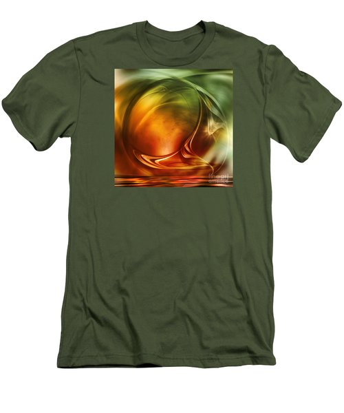 Abstract Whiskey Men's T-Shirt (Slim Fit) by Johnny Hildingsson