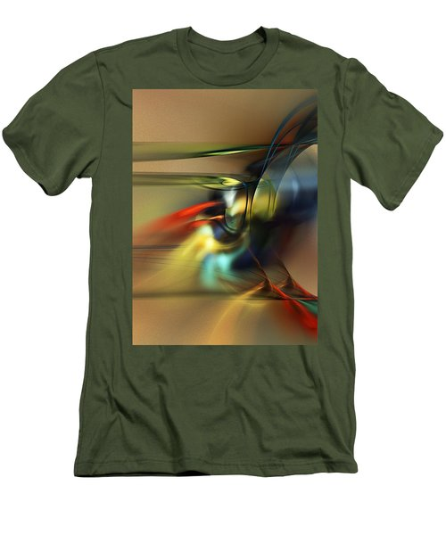 Abstraction 022023 Men's T-Shirt (Athletic Fit)