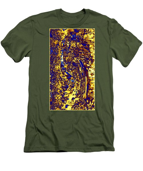 Men's T-Shirt (Slim Fit) featuring the digital art Abstractmosphere 3 by Will Borden