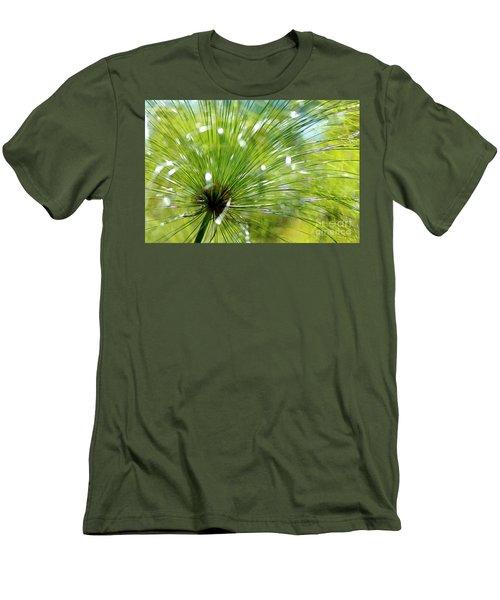 Abstrct Grass Men's T-Shirt (Slim Fit) by Nicholas Burningham