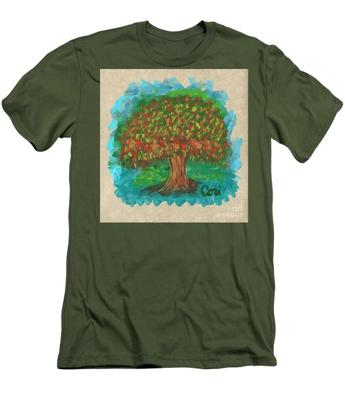 Abundant Tree Men's T-Shirt (Athletic Fit)