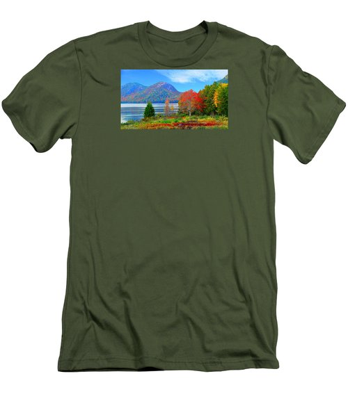 Acadia National Park Men's T-Shirt (Athletic Fit)
