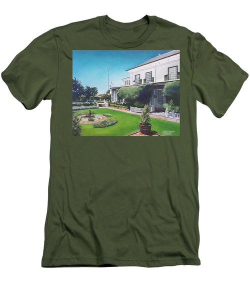 Admiralty House Men's T-Shirt (Slim Fit) by Tim Johnson
