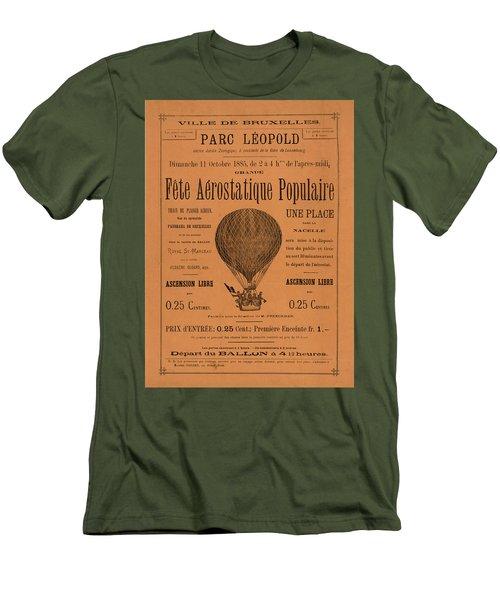 Aerostatique Populaire Men's T-Shirt (Athletic Fit)