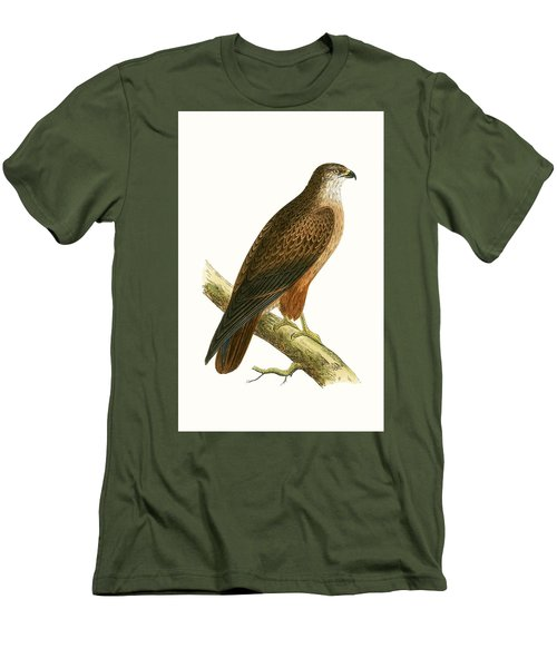 African Buzzard Men's T-Shirt (Slim Fit) by English School