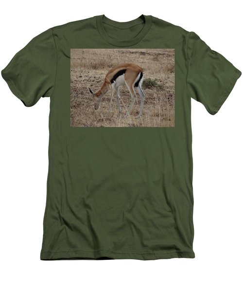 African Wildlife 4 Men's T-Shirt (Athletic Fit)