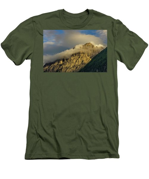 After The Rain In The Austrian Alps. Men's T-Shirt (Slim Fit)