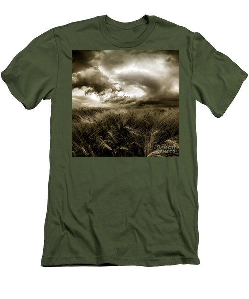 Men's T-Shirt (Slim Fit) featuring the photograph After The Storm  by Franziskus Pfleghart