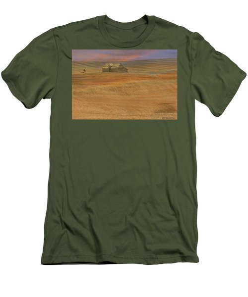 Afterglow On The Palouse Men's T-Shirt (Athletic Fit)