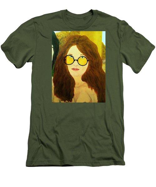 Afterlife Concerto Janis Joplin Men's T-Shirt (Slim Fit)