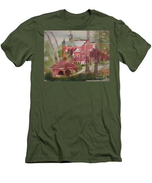 Afternoon Shadows W403 Men's T-Shirt (Slim Fit) by Kip DeVore