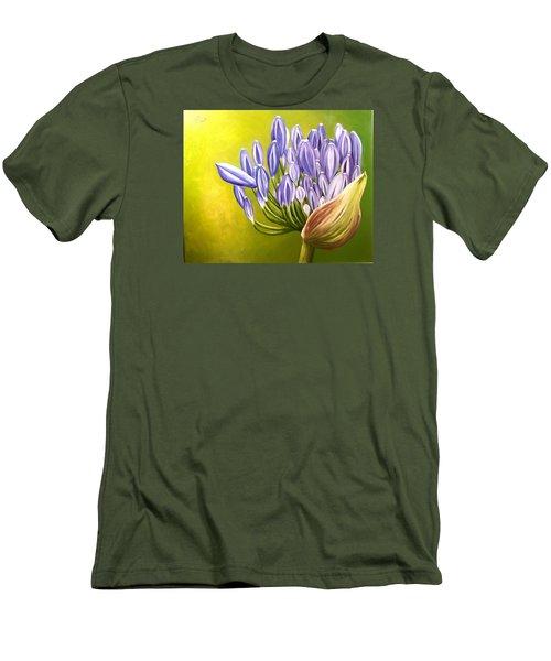 Agapanthos Men's T-Shirt (Athletic Fit)