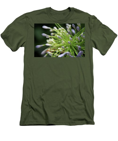 Agapanthus, The Spider Flower Men's T-Shirt (Slim Fit) by Yoel Koskas
