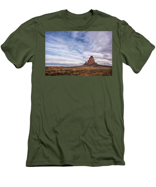 Men's T-Shirt (Slim Fit) featuring the photograph Agathla Wakes Up by Jon Glaser
