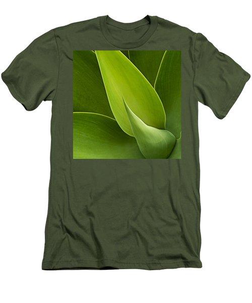 Agave Men's T-Shirt (Slim Fit) by Heiko Koehrer-Wagner