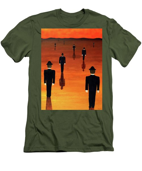 Agents Orange Men's T-Shirt (Slim Fit)
