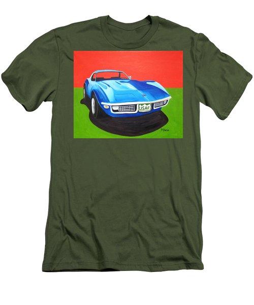 Air Force Vette Men's T-Shirt (Athletic Fit)